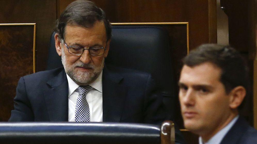 Foto: El líder de Ciudadanos, Albert Rivera, y el presidente del Gobierno en funciones, Mariano Rajoy. (Reuters)