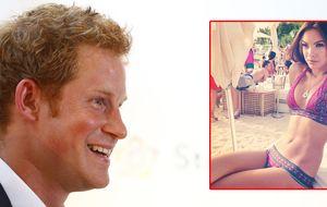 Una top model alemana 'entra' en Buckingham de la mano de Harry