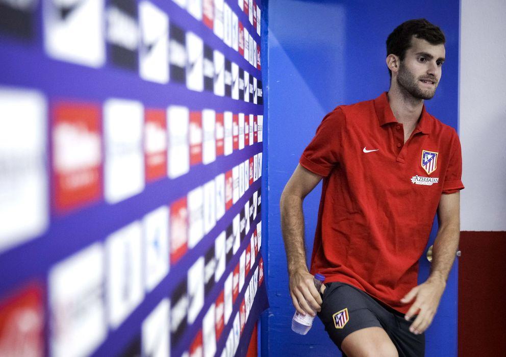 Foto: Leo Baptistao, en una rueda de prensa esta temporada.