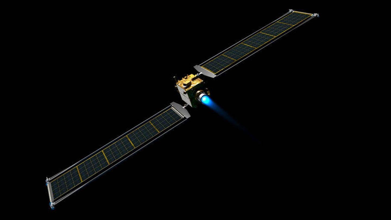 Ilustración de la sonda DART. (NASA)