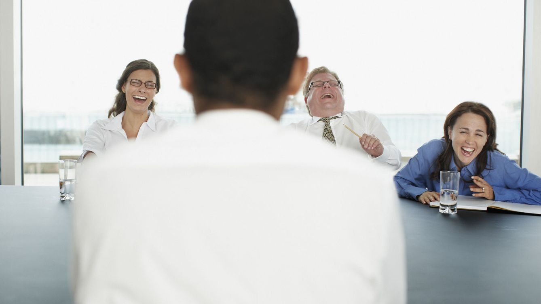 Foto: No. Que se rían a carcajadas no tiene por qué ser una buena señal. (iStock)