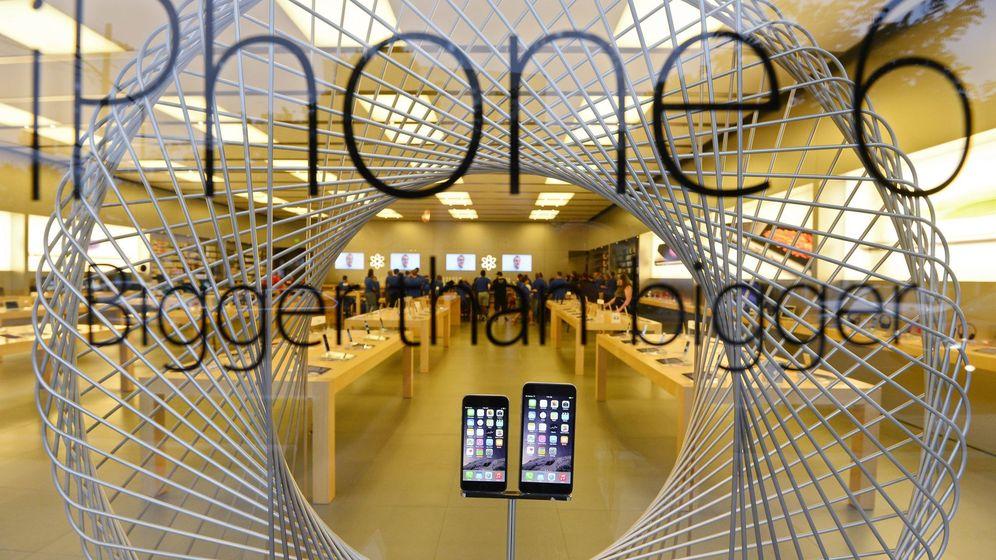 Foto: Las ventas de iPhone han bajado un 16% en el último trimestre. (EFE)