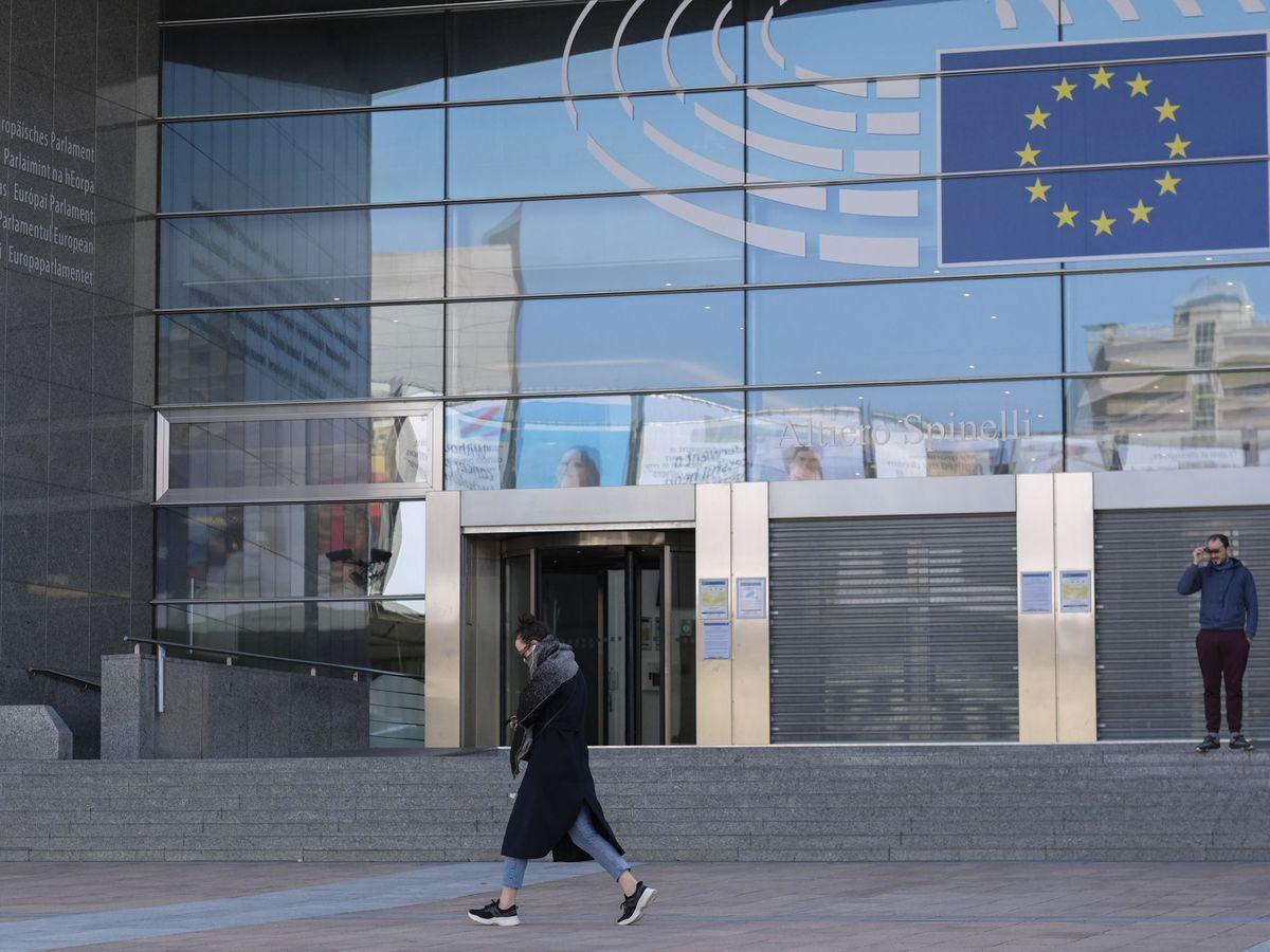 Foto: Entrada del Parlamento Europeo en Bruselas. (EFE)