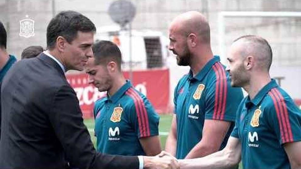 El bautismo de Pedro Sánchez con la selección española de fútbol