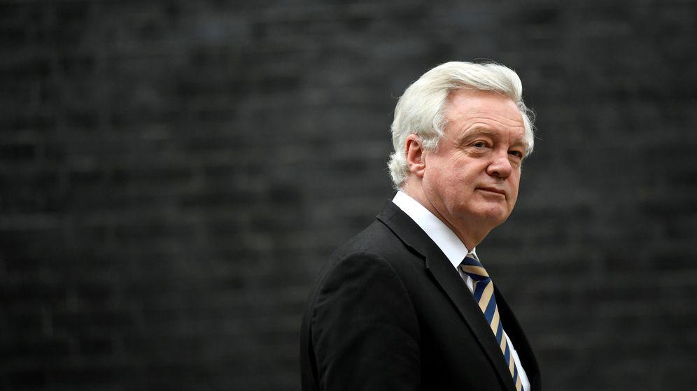 Foto: David Davis, el ministro del Brexit, renuncia a su cargo. (Reuters)