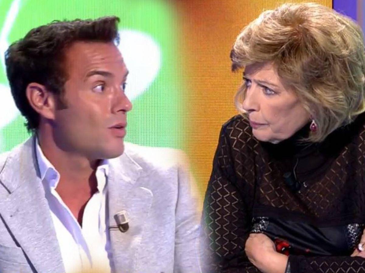 Foto: Antonio Rossi y María Teresa Campos. (Telecinco)