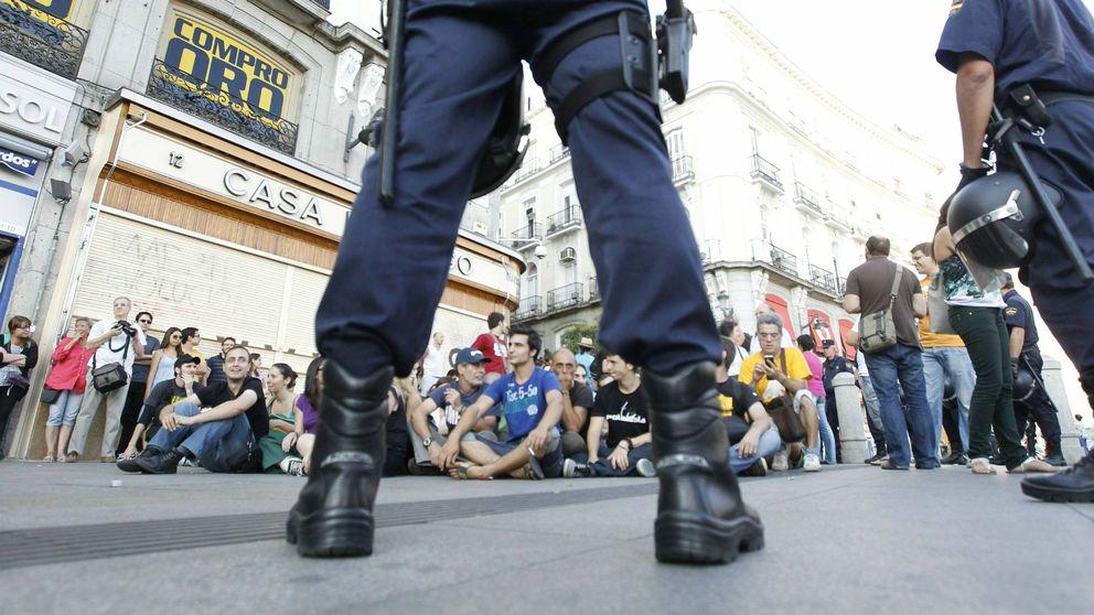 Temor en los 'antidisturbios' : el 15M que reprimieron ahora será su jefe