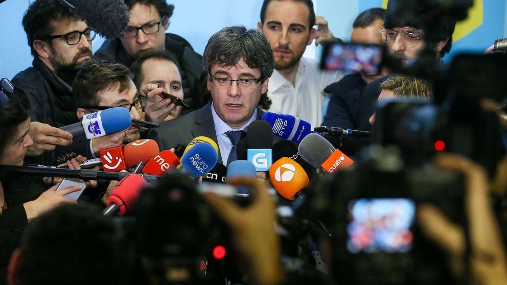 El Constitucional frustra por unanimidad la investidura a distancia de Puigdemont