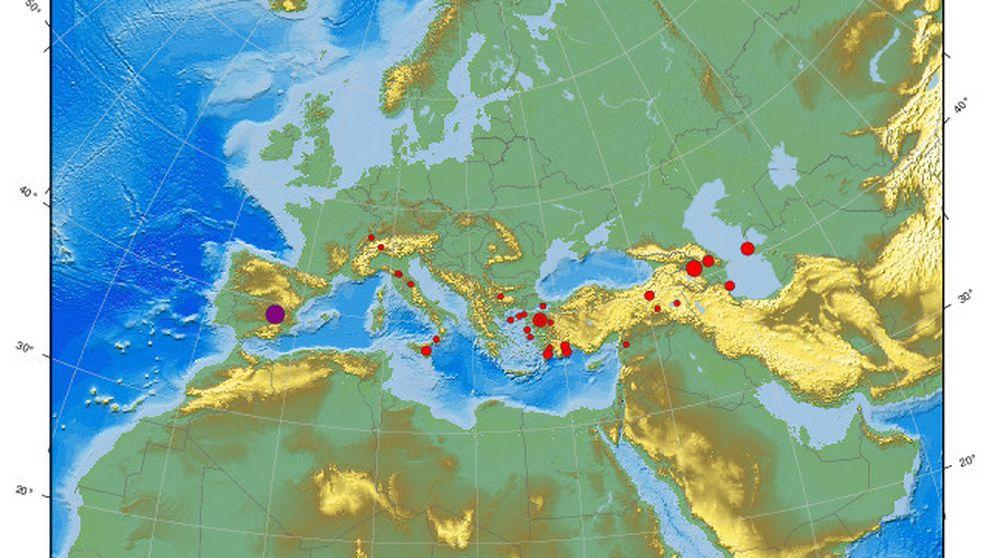 Un terremoto sacude levemente varias regiones de España