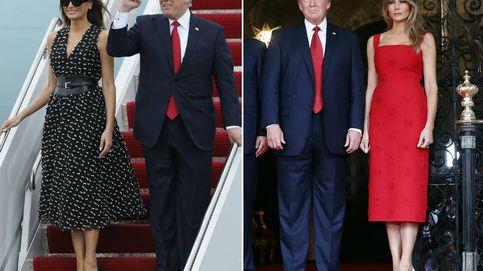 Las dos versiones de Melania Trump: clásica y sexy