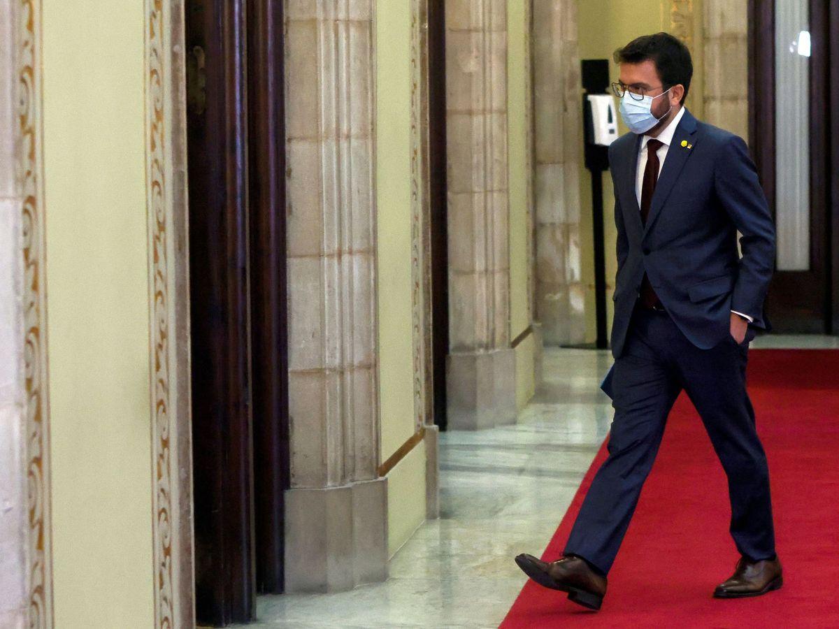 Foto: El vicepresidente de la Generalitat, Pere Aragonés. (EFE)