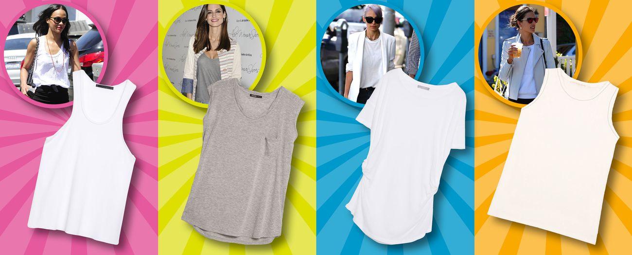 Foto: Cuatro formas geniales de llevar una camiseta básica