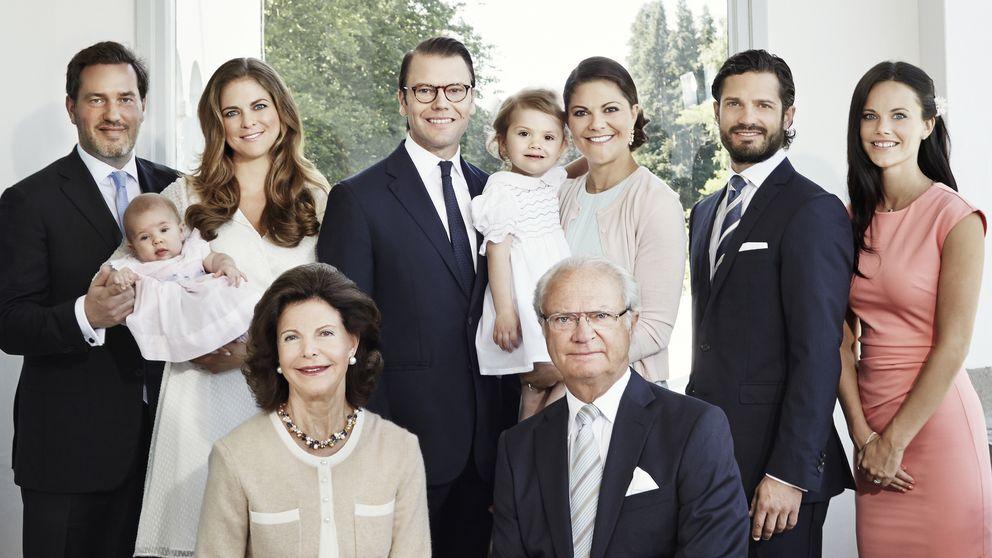 La Corona sueca hace piña ante las polémicas y la española se distancia