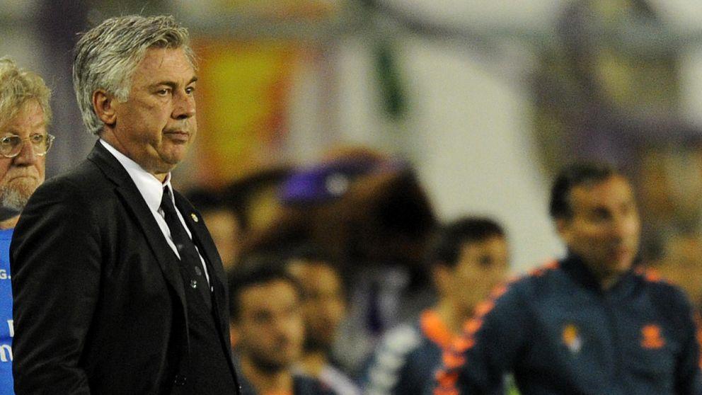 El futuro de Ancelotti vuelve a estar en duda por dar vida al Barcelona