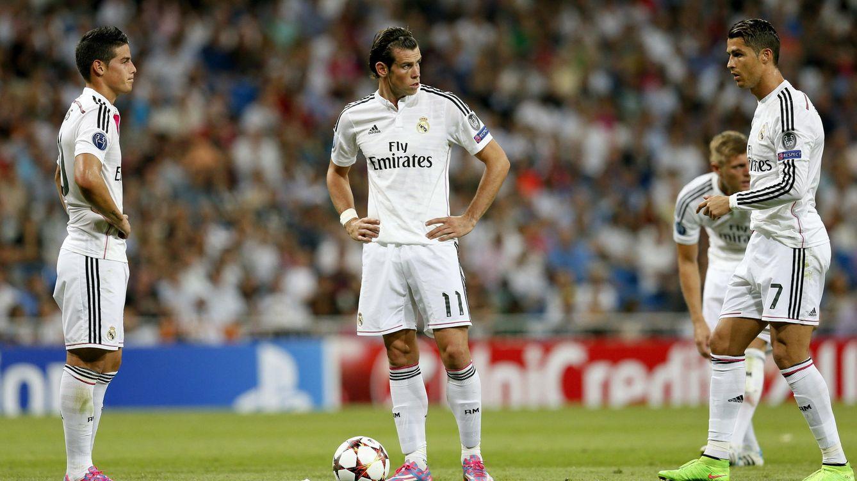 Cristiano, Bale... y James: primer asalto de la 'guerra de las faltas' del Real Madrid