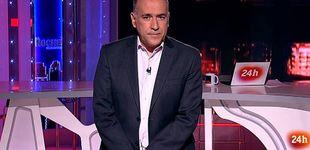 Post de Xabier Fortes, obligado a apartarse de TVE por tercera vez