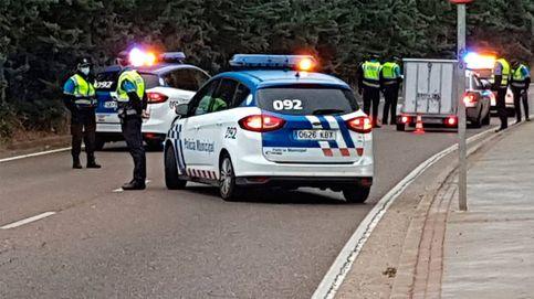 Conduce sin carné por Valladolid, provoca un accidente, huye y da positivo