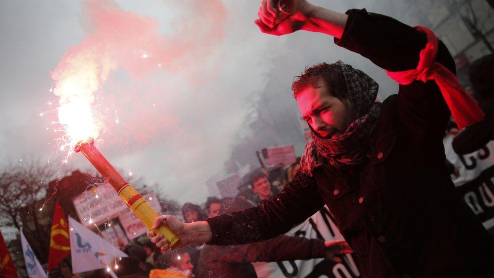 Huelga en Francia contra una reforma laboral a la española