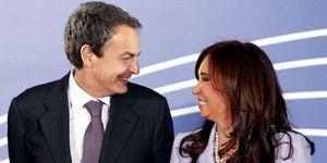 Foto: Una investigación judicial sobre la financiación de los Kirchner salpica a Zapatero
