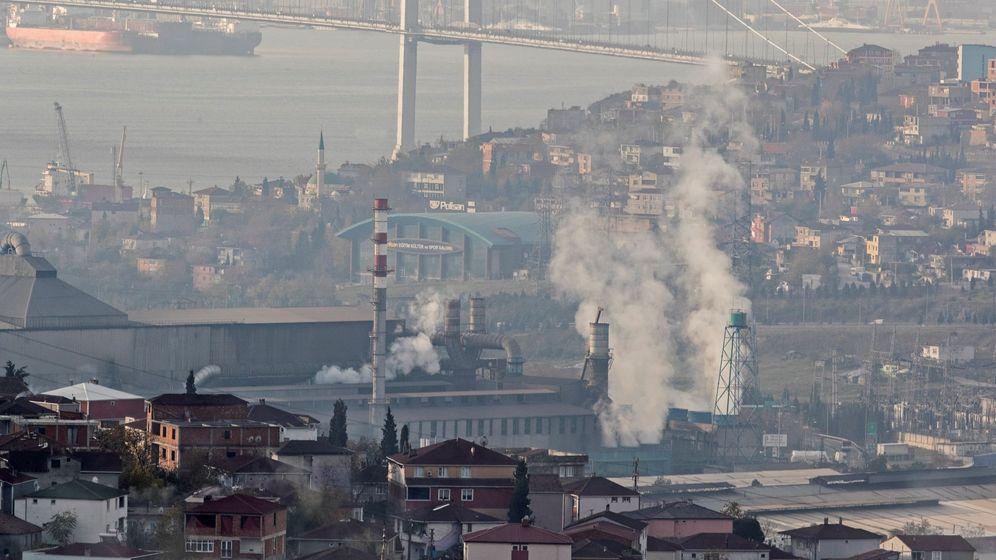 Foto: Contaminación en Turquía. (Reuters)