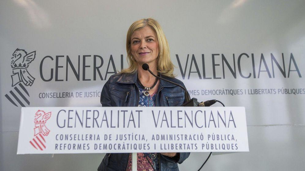 Foto: La consellera de Justicia y exportavoz del CGPJ, Gabriela Bravo, impulsora de la ley. (EFE)