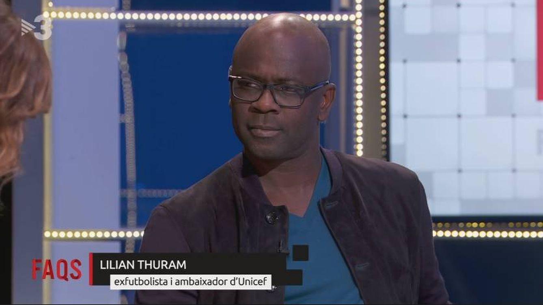 Lilian Thuram acude a TV3 para vincular el descubrimiento de América con el racismo