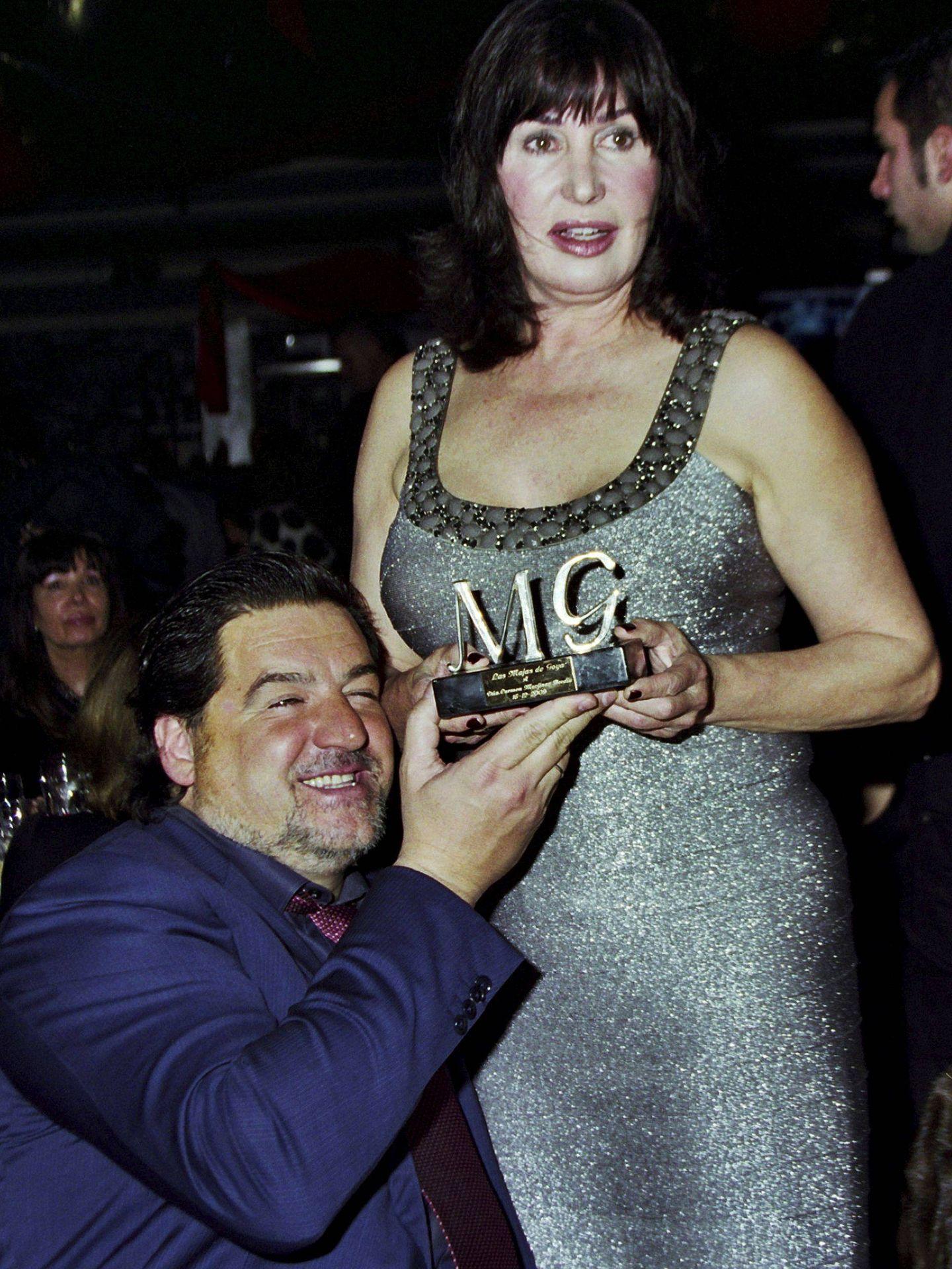 Carmen Martínez-Bordiú y José Campos. (EFE)