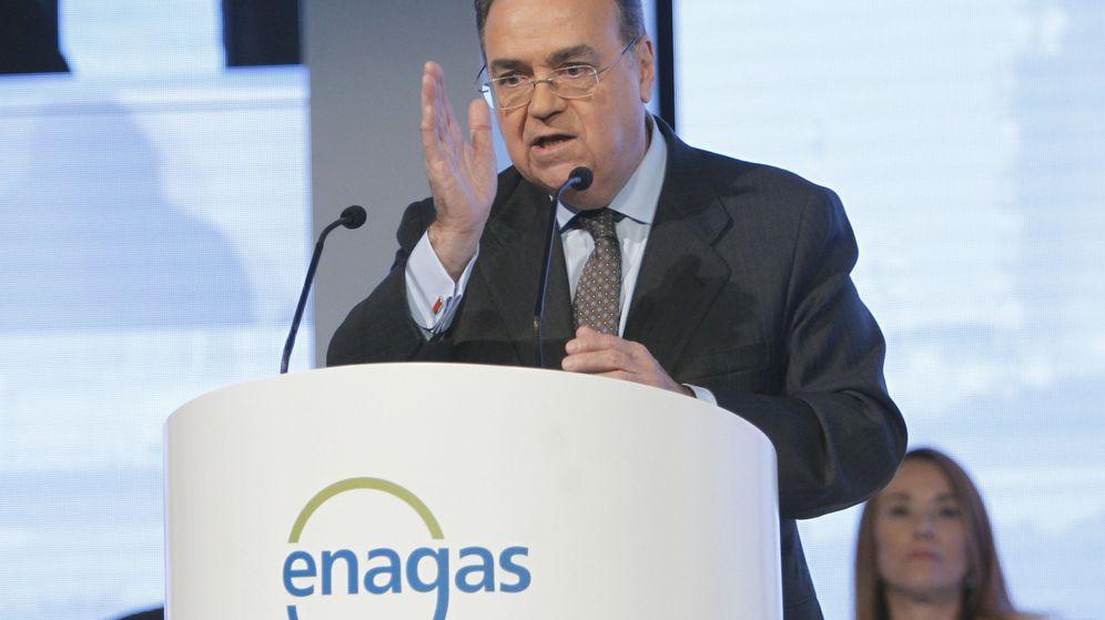 Foto: El presidente ejecutivo de Enagás, Antonio Llardén. (EFE)