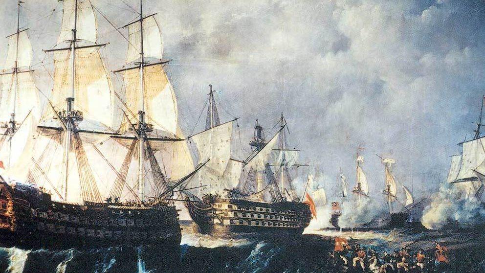 El Santísima Trinidad: un barco defectuoso, un fracaso épico