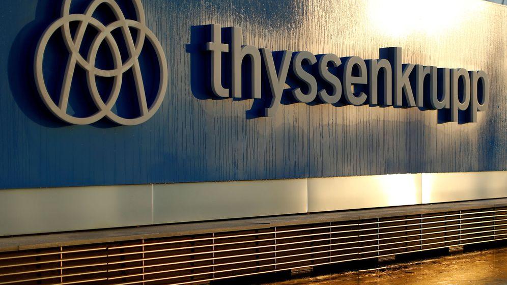 Foto: La siderúrgica alemana Thyssenkrupp es una de las principales empresas del país. (Reuters)