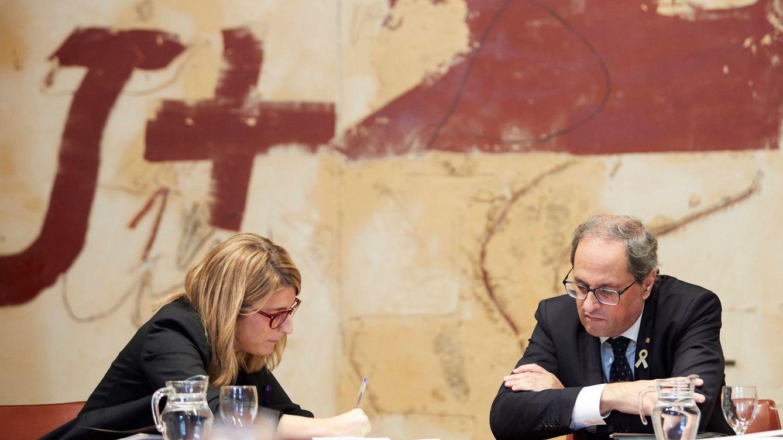 Torra ve a la Justicia española devastada y pronostica un juicio injusto a los presos