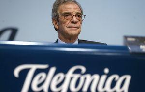 Fitch confirma el 'rating' de Telefónica tras su nueva compra