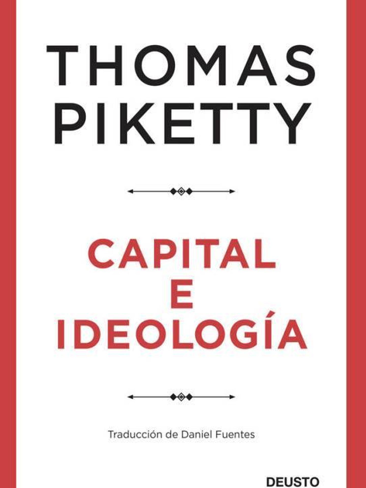 Portada de 'Capital e ideología'.