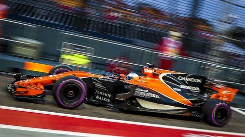 ¿La clave para la mejora de Alonso en Singapur? La ausencia de rectas