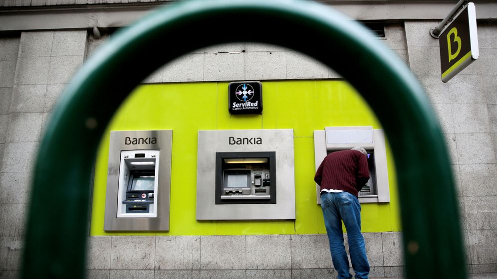 Foto: Cajero de Bankia (Reuters)