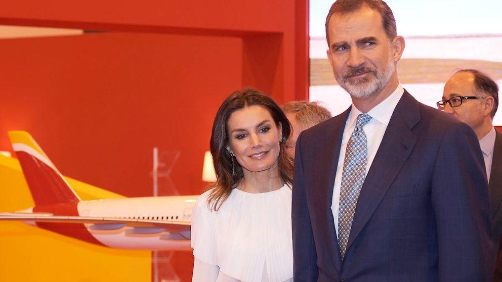 Felipe, doña Letizia y su particular 'homenaje' a la gran olvidada en los Goya 2019