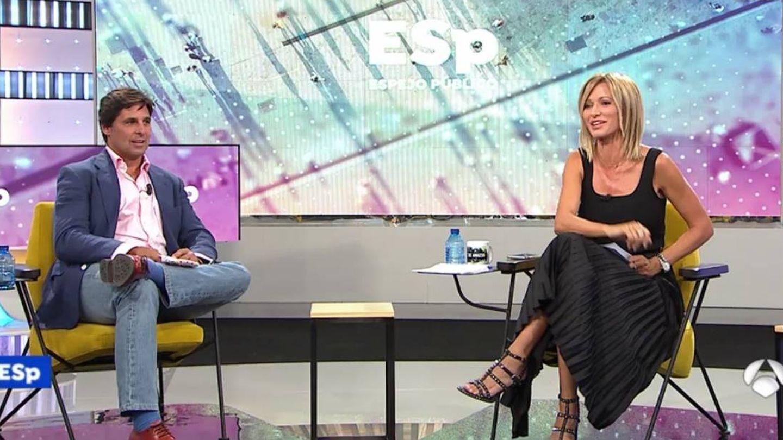 Fran Rivera y Sussana Griso. (Atresmedia Televisión)