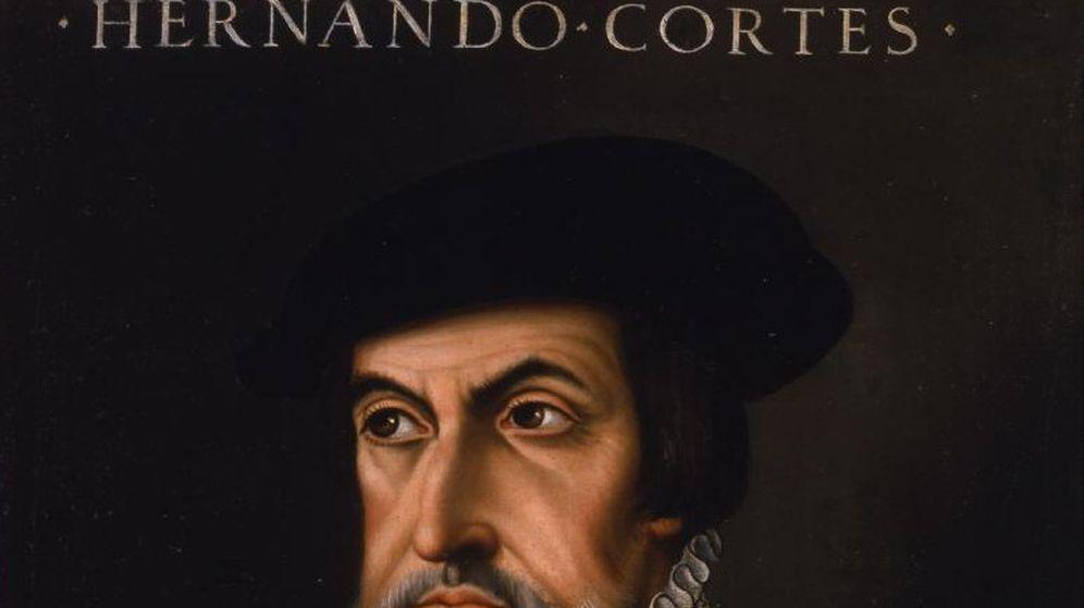 Foto: Retrato anónimo de Hernán Cortés, Museo de la Real Academia de Bellas Artes de San Fernando.