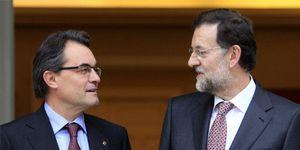 Rajoy pide ayuda a Mas para apoyar la posición de España en Europa