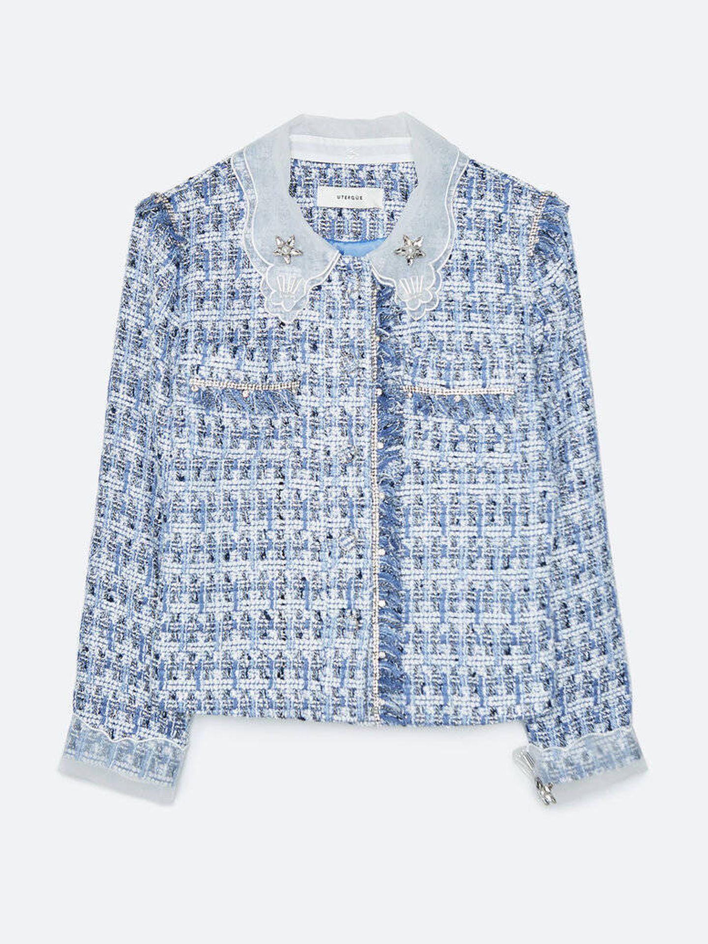 La chaqueta de Uterqüe. (Cortesía)
