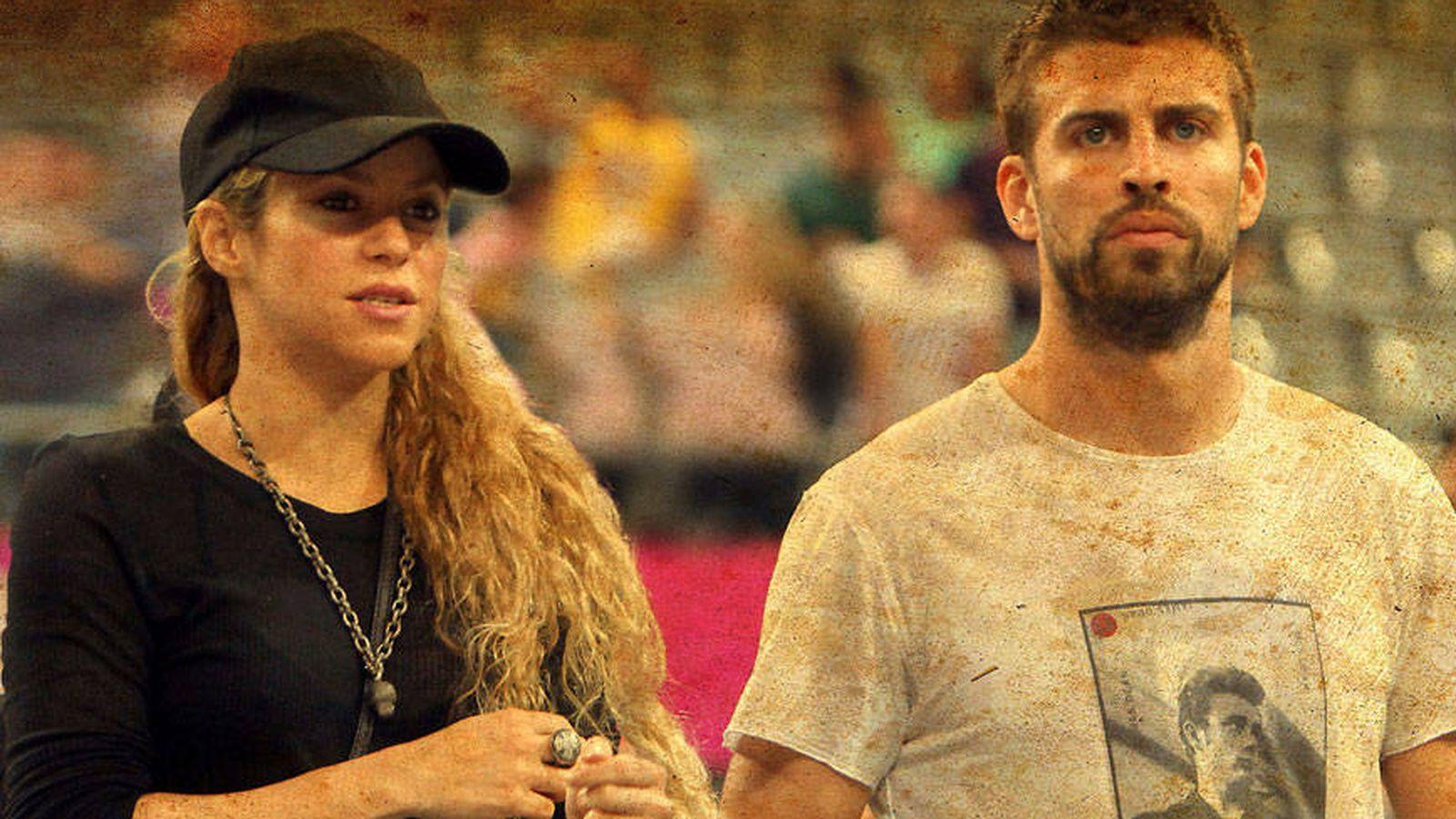 Foto: Shakira y Piqué en un montaje de Vanitatis.