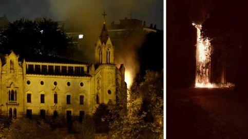 Incendio en el 'gaztetxe' de Portugalete: No tenemos ninguna duda, ha sido provocado