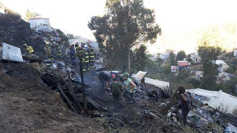 Gran incendio en Chile