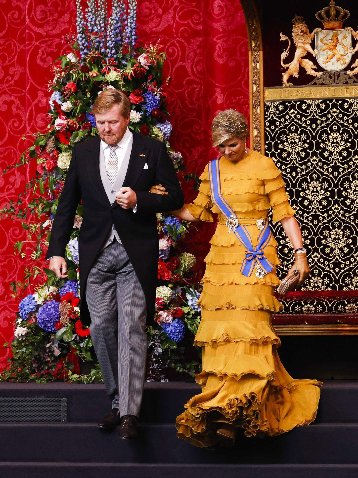 Los Reyes de Holanda en el Prinsjesdag de 2020. (EFE)