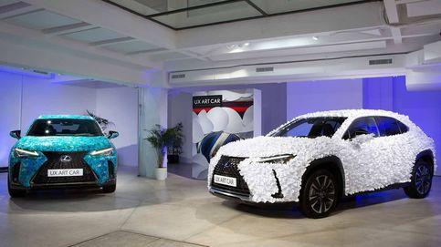 Lexus UX Art Car, el coche como lienzo para una obra de arte