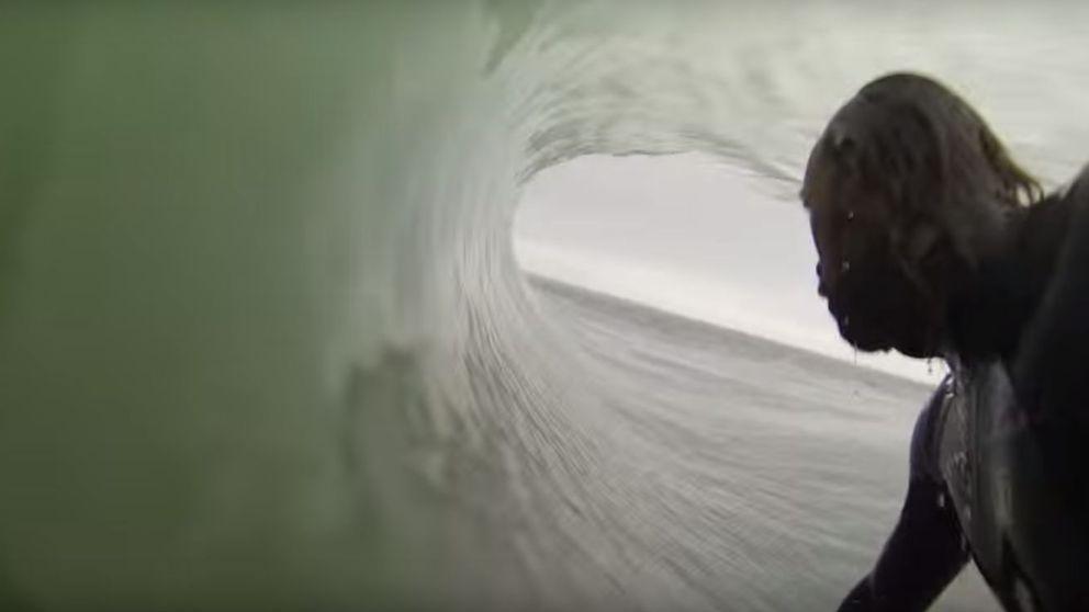 La sesión perfecta de surf de Kepa Acero