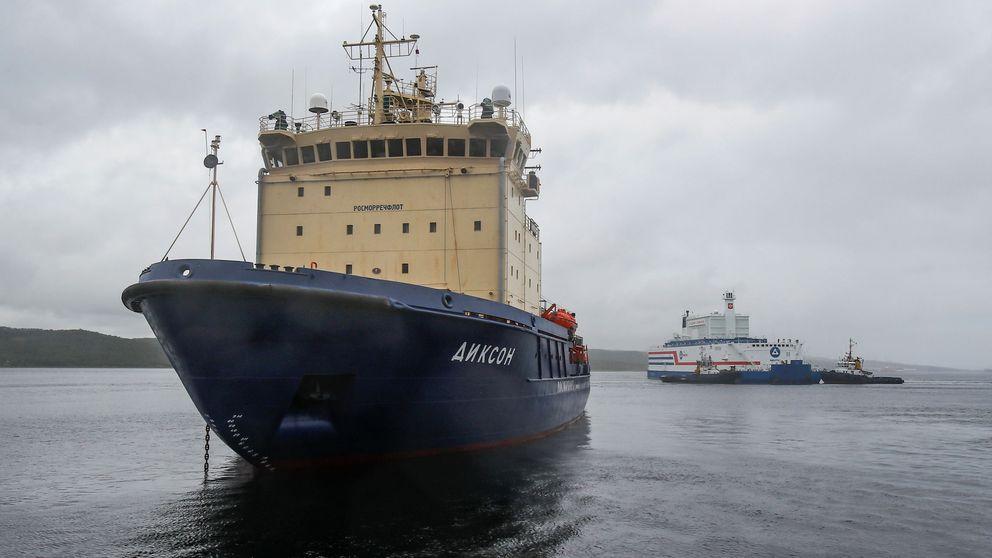 Rusia presenta su primera planta de energía nuclear flotante