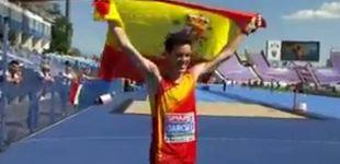 Post de Diego García Carrera, campeón de Europa sub-23 en 20 km marcha