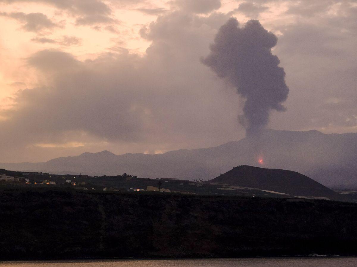 Foto: Octavo día de erupción en La Palma. (EFE)