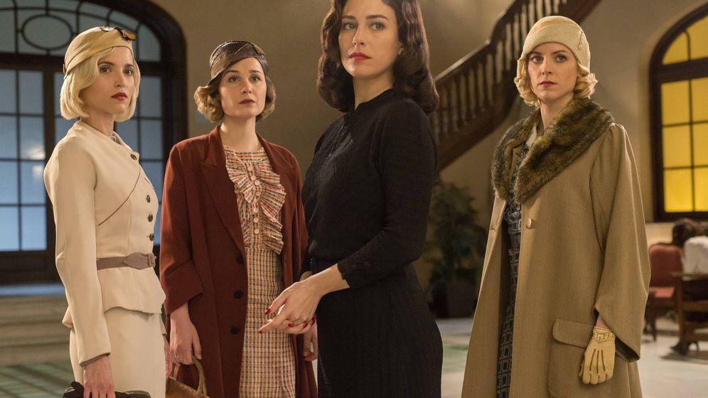 Foto: protagonistas de 'Las chicas del cable'. (Netflix)